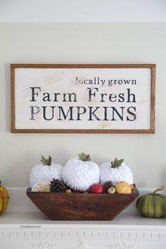Fall| Learn How to Make DIY Fabric Pumpkins Tutorial Fall Decor