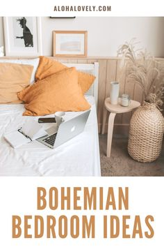Create the bohemian bedroom of your dreams. - boho style - boho bedroom decor - boho chic - bedroom ideas - bohemian bedroom decor - boho chic inspiration bedroom decoration - boho living room - bedroom diy #bohobedroom #bohochic #bedroomdecorideas Bohemian Bedroom Design, Bohemian Bedroom Decor, Boho Living Room, Living Room Bedroom, Dream Master Bedroom, Do It Yourself Home, Home Projects, Home Decor, Decoration Home