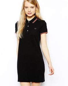 Shop Fred Perry Polo Dress at ASOS. Fred Perry, Look At You, Out Of Style, Go Shopping, Catwalk, Going Out, Asos, Short Sleeve Dresses, Shirt Dress
