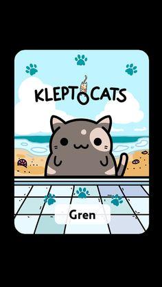 #KleptoCats Here's my new friend #iOS www.kleptocats.com/share #caturday