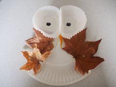 leafy owl craft