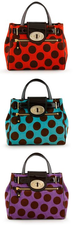 Sienna Collection AW 2012 Beautiful Handbags, Beautiful Bags, Future Fashion, Things To Buy, Fashion Bags, Polka Dots, Take That, Fashion Makeover, Dot Dot