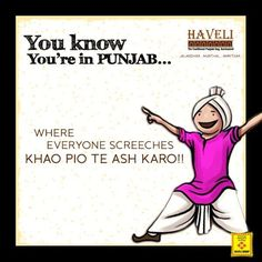 Where Everyone Screeches...... KHAO PIO TE ASH KARO!!!!! Punjabi Memes, Shayari Funny, Life Quotes, Funny Quotes, Sing Out, People Dancing, George Clooney, When You Know, Strong Quotes