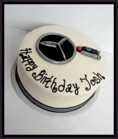 Mercedes themed cake