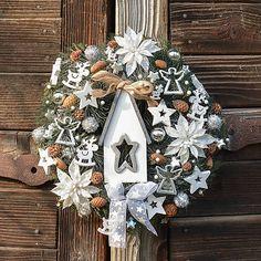 Hydrangea / Vianočný veniec s domčekom Advent Calendar, Holiday Decor, Home Decor, Decoration Home, Room Decor, Advent Calenders, Home Interior Design, Home Decoration, Interior Design