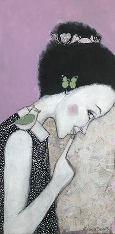 Monica Blom Art: Den sista av tre tavlor.