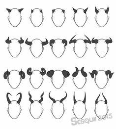 Horns; How to Draw Manga/Anime                                                                                                                                                                                 More