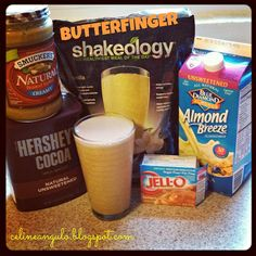 Clean Yourself Fit: Butterfinger Shakeology