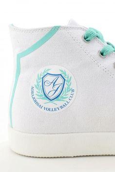 Get Your Kicks With New Haikyu!! Sneakers #AobaJohsai