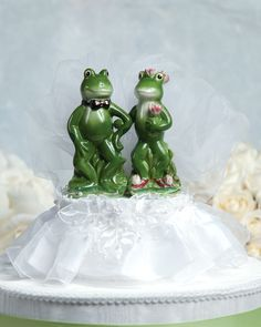Frog Prince Wedding Cake Topper $34.95