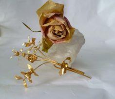 Broschen & Anstecker - ♥ Hochzeitsanstecker ♥ - ein Designerstück von Cafe-bijoux bei DaWanda