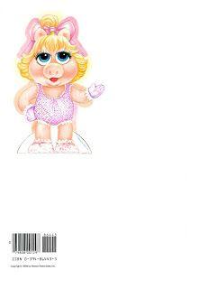 Paper Dolls: Muppet Babies Miss Piggy