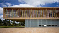 Image 2 of 19 from gallery of Los Nogales School / Daniel Bonilla Arquitectos. Photograph by Rodrigo Dávila