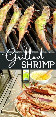 Grilled King Prawns (Video) - Peter's Food Adventures Easy Dinners, Easy Dinner Recipes, Delicious Recipes, Healthy Recipes, Healthy Grilling, Grilling Recipes, Rib Recipes, Shrimp Recipes, Yummy Eats