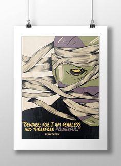Bride of Frankenstein MOVIE Art Silk Poster 8x12inch