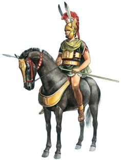 Apulian Horseman. It would seem likely that each Apulian Cavalryman would have equipped himself depending on his status. Generally the Apulian cavalry were well armed and extremely formidable.