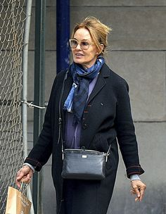 Jessica Lange in Manhattan, NYC on March 25, 2017.