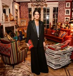 10/ Leandra Medine in stripes and a tux http://markdsikes.com/2014/03/22/mds-bd10-the-return/