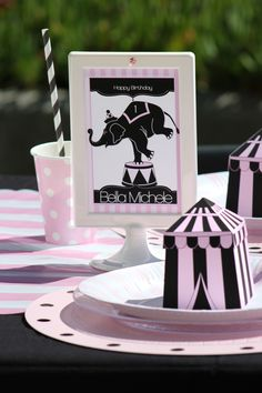 "Girlfriend's Guide To Party Planning: ""Girly Circus!"" Budget Chic Table TIPS"