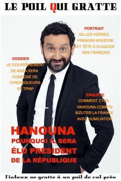 [LPQG Niouzes] Hanouna: Pourquoi il sera élu Président de la République