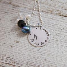 {Joy To The World necklace} jewelry we make
