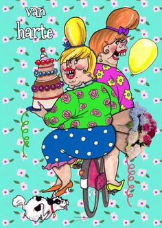 dog with cake and flowers. Happy Birthday Tag, Birthday Tags, Birthday Wishes, I Miss My Sister, Anniversary Greetings, I Love My Son, Happy B Day, Cool Cards, Betty Boop