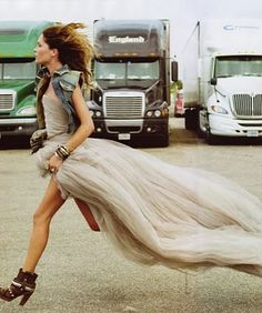 i don't like the trucks in the background, but i love the overall idea.