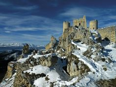 Fortress: Rocca Calascio was one an important fortress for the Medici family, which contro...