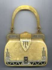 Rare Art Deco Jeweled Catalin Purse  # 1 favorite!!  I would love to carry this!