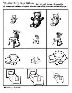 Goldilocks and the Three Bears Activities.including cut and order sentence fairy tales kindergarten Preschool Literacy, Kindergarten Reading, Kindergarten Teachers, Kindergarten Worksheets, Fairy Tale Crafts, Fairy Tale Theme, Traditional Tales, Traditional Stories, Fairy Tales Unit