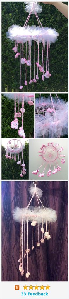 Mobiles, Dream Catcher Nursery, Butterfly Mobile, Baby Mobile, Hanging Mobile, Baby Items, Fun Crafts, Gifts For Kids, Nursery Decor