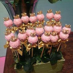 New ideas cake pops kids cakepops Princess Cake Pops, Princess Theme, Baby Shower Princess, Princess Birthday, Baby Birthday, Baby Shower Cakes, Baby Shower Themes, Baby Shower Decorations, Birthday Party Decorations