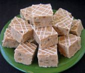 Cinnamon Bun Fudge - this one doesn't use the Cinnabon sprinkles and syrup if you can't find those