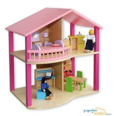 Casita de muñecas Ana para niños y niñas