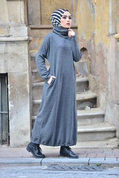Triko kumaş elbise