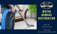 Increase the quality of life in your home Delray Beach, South FL with carpet cleaning, air duct cleaning, and mold remediation services from Quality Air Care. Leaking Pipe, Clean Air Ducts, Air Care, Duct Cleaning, Restoration Services, Delray Beach, Water Damage, Cleaning Service, How To Clean Carpet