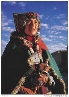 A Tibetan Woman, Zanda County of Tibet - Delcampe.net