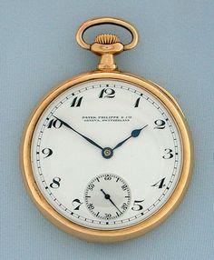 Bogoff Antique Pocket Watches Patek Philippe - Bogoff Antique Pocket Watch # 6564