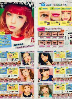 Zipper Magazine makeup tutorials