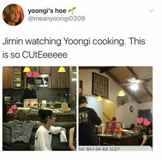Jiminie and Yoongi | that's adorable hahah