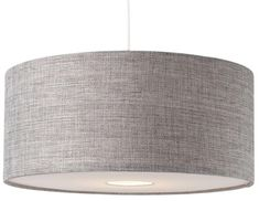 BNWT Modern Grey Textured LARGE Drum Diffuser Ceiling Light Shade Pendant NEW in Home, Furniture & DIY, Lighting, Ceiling Lights & Chandeliers | eBay