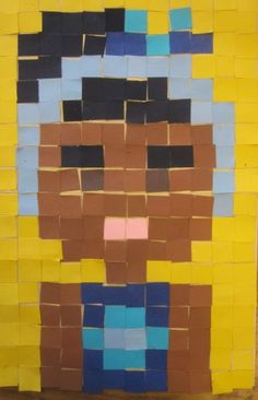 shine brite zamorano. minecraft & 8-bit inspired selfies