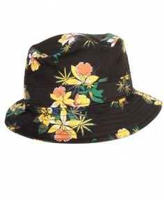 9e6f01d42d4 Obey - Sativa Floral Bucket Hat -  32