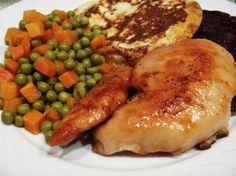 Chicken with Spicy Honey-Orange Glaze
