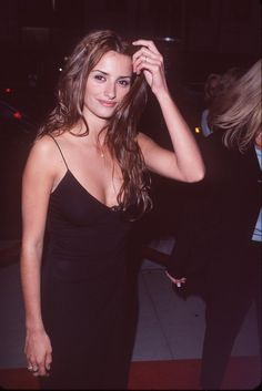 Pin for Later: A Nostalgic Look Back at Celebrities' Earliest Red Carpet Appearances Penélope Cruz, 1999