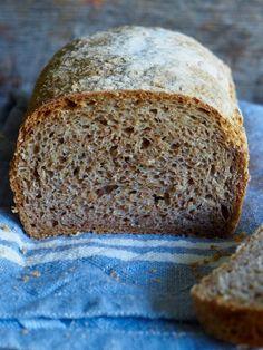 eltefritt hverdagsbrød Bread Recipes, Banana Bread, Food And Drink, Baking, Desserts, Loaf Recipes, Bread Making, Patisserie, Backen