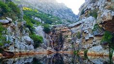 Hike to breathtaking views and enjoy swimming in fresh mountain pools. Cristal Pool, Cape Town South Africa, Hiking Trails, Tourism, Beautiful Places, Places To Visit, Pools, River, Crystal