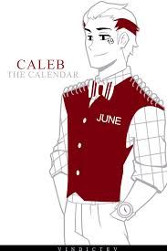 His full name should be Caleb June and he should be 19.