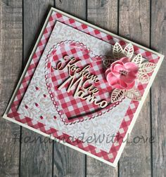 Handmade card for mum