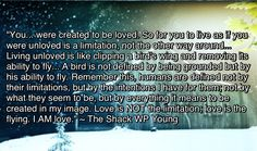 Favorite quote from The Shack BOOK